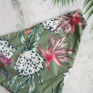 Roxy Swim - Roxy   Little Bandits 70s Floral Bikini Bottoms L